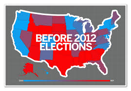Election Map 2012 by Did Obama Reset The Electoral Map Salon Com