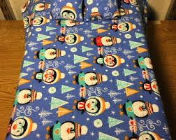 Penguin Comforter Sets Penguin Bedding Etsy