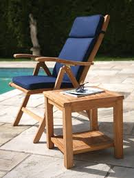 Recliner Patio Chair Unfinished Wooden Outdoor Chair With Recliner As Well As Patio