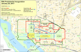 Pentagon Map Inauguration Planning Resources For Downtowndc Downtowndc