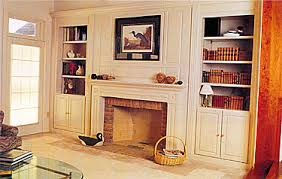 Fireplaces With Bookshelves by Fireplace Built In Cabinets Built In Bookcases On Either Side