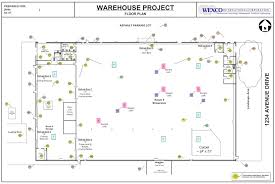 Building Site Plan Deferred Maintenance Of A Commercial Industrial Complex Wexco