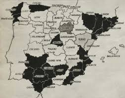 Burgos Spain Map by Spanish Civil War Maps Modern Records Centre University Of Warwick