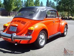 1979 vw volkswagen beetle convertible volkswagen super beetle convertible 2 door 1 6l no reserve