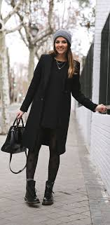 all black casual how to pull a stunning all black look style code