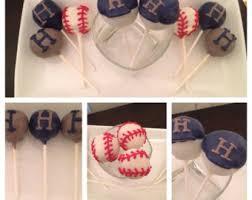 baseball cake pop etsy