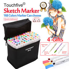 aliexpress com buy touchfive 30 40 60 80 168colors pen marker