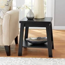 walmart end tables and coffee tables mainstays logan side table multiple finishes walmart com