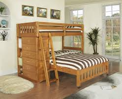 Bunk Bed With Stairs And Trundle Bedroom Winsome Jason Collection Twin Over Full Bunk Bed W