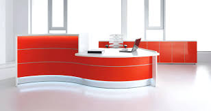 Used Curved Reception Desk Office Design Light And Welcoming Reception Desk Office