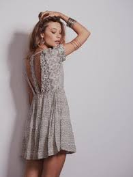 free people free people fitted with daisies dress ft 28831 74