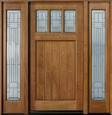 Exterior Doors Wooden Craftsman Custom Front Entry Doors Custom Wood Doors From Doors