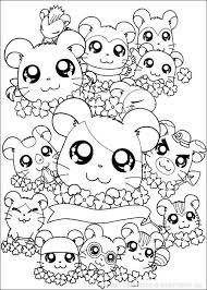 cute chibi coloring pages kids free printable cute chibi