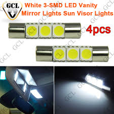 led replacement light bulbs for cars 4pcs xenon white d29mm 3 smd 6641 ts 14v1cp festoon led replacement