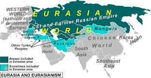 Map Of Eurasia File Eurasia And Eurasianism Png Wikimedia Commons
