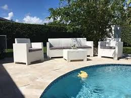 Modern Wicker Patio Furniture Modern Outdoor Furniture Ebay