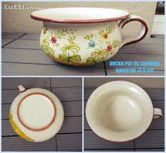 pot de chambre ancien ancien pot de chambre en céramique parfait état in ève acheter
