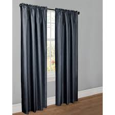 Walmart Navy Blue Curtains by Better Homes And Gardens Tangier Room Darkening Curtain Panel Rod