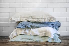Chambray Duvet Cover Queen Pure Linen Bedding Loungewear Perth Bedtonic Pure Linen