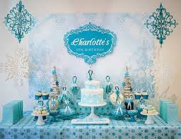 cinderella sweet 16 theme kara s party ideas frozen themed 5th birthday party via kara s