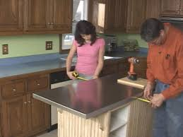 build kitchen island table how to build a custom kitchen island how tos diy
