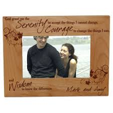 serenity prayer picture frame gifts