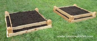 plans for building raised garden beds gardening ideas