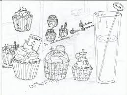 cake coloring pages for kids u2014 fitfru style