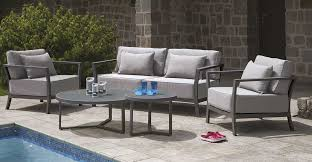 canape d exterieur design salon d extérieur confort anthracite homemaison vente en