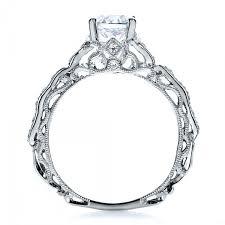filigree engagement ring diamond filigree engagement ring vanna k 100106