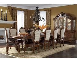 dining room trestle table dining set w trestle table tuscano ai 34002 34