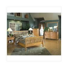 a america essex cove sleigh bedroom set in natural walmart com
