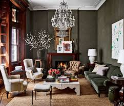 Homes Decorated For Christmas On The Inside See Inside Jessica Chastain U0027s Stunning Sultry Midtown Co Op
