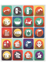 home and interior icons vector image 1337799 stockunlimited