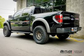 Ford Raptor All Black - ford raptor with 20in black rhino madness wheels exclusively from