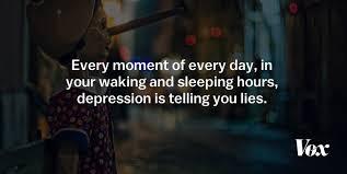 Words Of Comfort For A Depressed Friend 9 Secrets I U0027ve Uncovered About Depression Vox