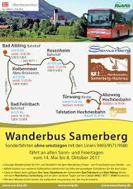 Webcam Bad Aibling Auch Heuer Wieder Wanderbus Zum Samerberg U2013 Samerberger Nachrichten