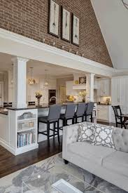kitchen lighting ideas vaulted ceiling vaulted ceiling kitchen lighting ideas two yellow bar stools