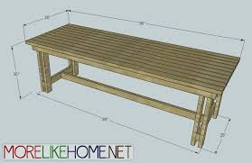 more like home day 18 build a homestead dining table