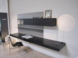 Modern Wall Desk Graye Showroom Summer 2013 Porro Modern Loadit Wall Desk Graye