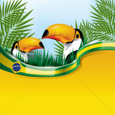 Blank Brazil Flag Brazil Flag With Toco Toucan Vector Image 1597179 Stockunlimited