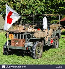 army jeep ww2 british army world war two jeep carrying medical equipment and