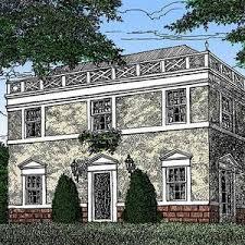 federal style home plans federal style home plan gc architectural designs house floor plans