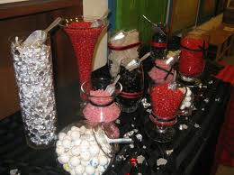 Pink And Black Candy Buffet by 21 Best Red Black And White Candy Buffets Images On Pinterest