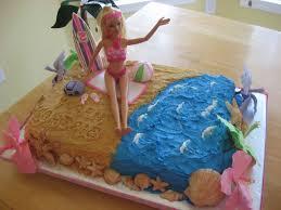 beach barbie cake tidal treasures