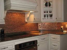 copper backsplash for kitchen luxurious kitchen lovely wonderful copper backsplash ideas