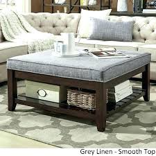 large padded coffee table charming ottoman coffee tables extra large ottoman coffee table