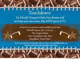 football themed baby shower pitt invitation pink football themed baby shower invitation design