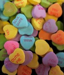 valentines day candy hearts 274 best conversation hearts images on