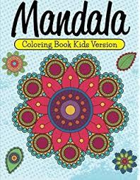 1 mandala coloring book kids 40 easy mandalas perfect